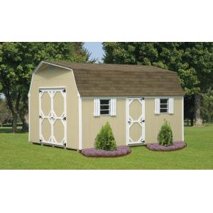 12' x 16' High Wall Mini Barn