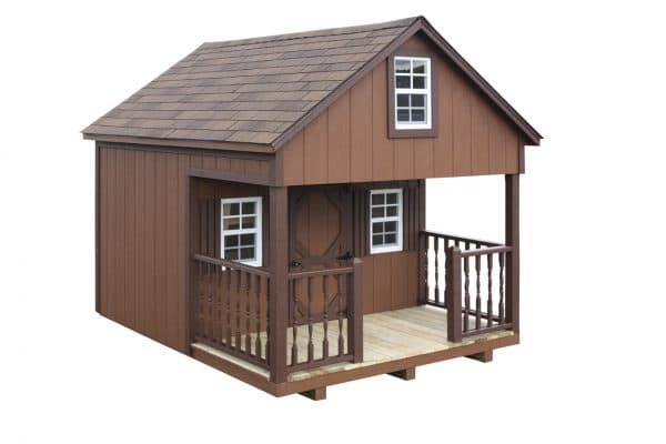 Country Style Playhouse - Brown